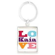 I Love Kaia Portrait Keychain