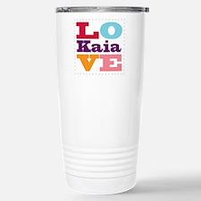 I Love Kaia Travel Mug