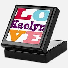 I Love Kaelyn Keepsake Box