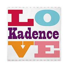 I Love Kadence Queen Duvet
