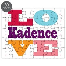 I Love Kadence Puzzle