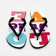 I Love Julie Flip Flops