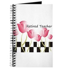 Retired Teacher Pillow 1 Journal