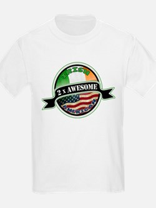 2x Awesome Irish American T-Shirt