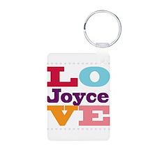 I Love Joyce Keychains
