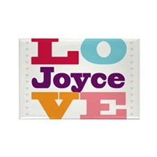 I Love Joyce Rectangle Magnet