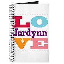 I Love Jordynn Journal