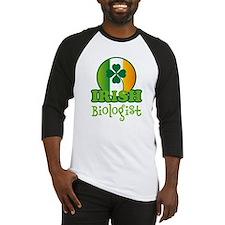 Irish Biologist St Patricks Baseball Jersey