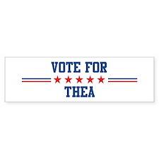 Vote for THEA Bumper Bumper Sticker