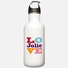 I Love Jolie Water Bottle