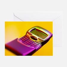 WAP mobile telephone - Greeting Card