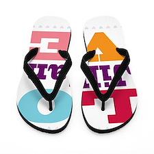 I Love Jillian Flip Flops