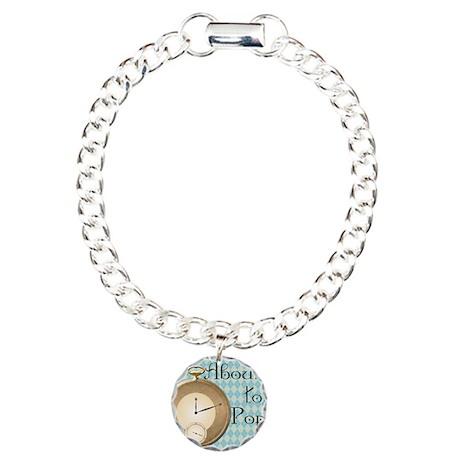 About to Pop Alice Maternity Charm Bracelet, One C