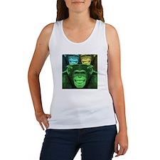 Cute Chimp Women's Tank Top