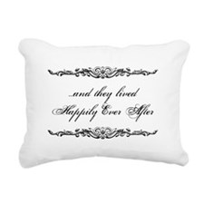Cute Vintage wedding Rectangular Canvas Pillow