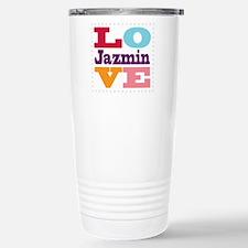 I Love Jazmin Travel Mug