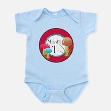 Alice 1 Month Milestone Infant Bodysuit
