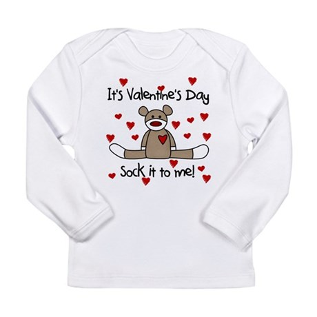 valentinesockbear Long Sleeve T-Shirt