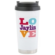 I Love Jaylin Travel Mug