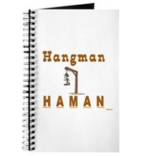 Purim Hangman Haman Journal