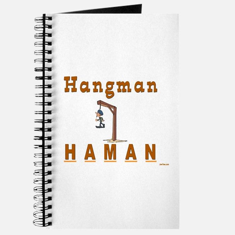 Purim Hangman Haman Journal