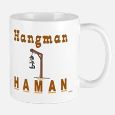 Purim Hangman Haman Mug