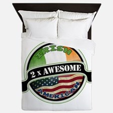 2x Awesome Irish American Queen Duvet