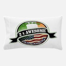 2x Awesome Irish American Pillow Case