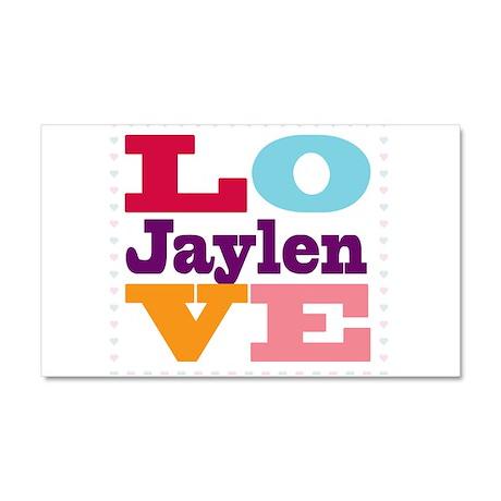 I Love Jaylen Car Magnet 20 x 12