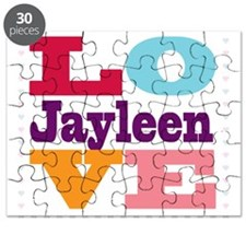 I Love Jayleen Puzzle