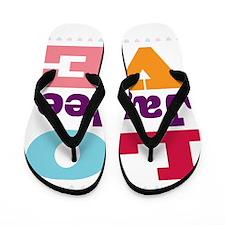 I Love Jaylee Flip Flops