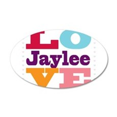 I Love Jaylee Wall Decal
