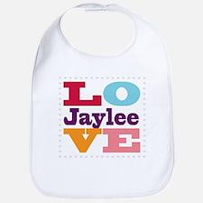 I Love Jaylee Bib