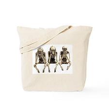 see no evil, hear no evil, speak on evil Tote Bag