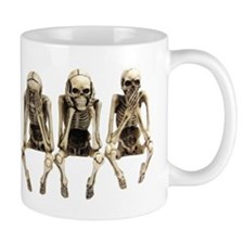 see no evil, hear no evil, speak on evil Mug