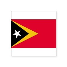 East Timor Rectangle Sticker