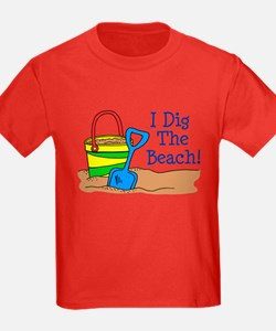 I Dig The Beach T