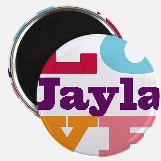 I Love Jayla Magnet