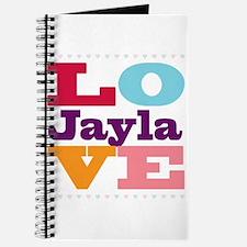I Love Jayla Journal