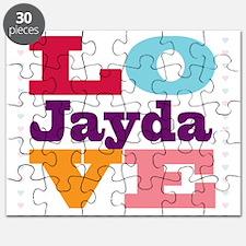 I Love Jayda Puzzle