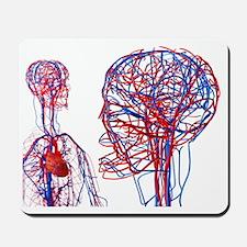 Cardiovascular system, artwork - Mousepad