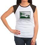 Relaxing Walk Women's Cap Sleeve T-Shirt