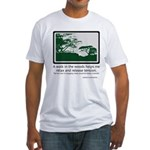 Relaxing Walk Fitted T-Shirt