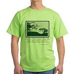 Relaxing Walk Green T-Shirt