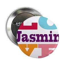 """I Love Jasmin 2.25"""" Button"""