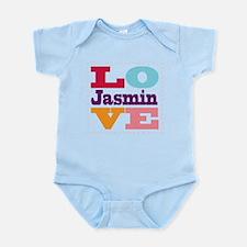 I Love Jasmin Infant Bodysuit