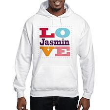 I Love Jasmin Hoodie