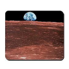 Earth rising - Mousepad