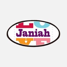 I Love Janiah Patches