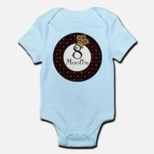 Alice 8 Months Milestone Infant Bodysuit